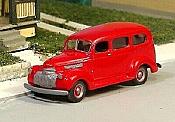 Sylvan Scale Models 203 HO Scale -1941-47 Chev Suburban Resin Cast Kit