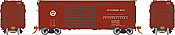 Rapido 123007-F HO Scale - PRR X31A Double-Door Boxcar: Circle Keystone - Automobile - Single Car #69402