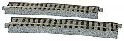 Kato Unitrack 2-290 - HO Right Curved Track w/10-degree Radius - 34 1/8in (867mm)(2/pkg)