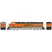 Athearn G83134 HO Scale ES44DC - w/DCC & Sound - Burlington Northern Santa Fe H2 #7641 Pre-Order