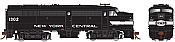 Rapido 21590 HO - DC/DCC/Sound - Alco FA-2 Penn Central (ex-NYC Cigar Band) #1373 - Pre-order