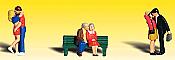 Woodland Scenics 2133 - N Scenic Accent Figures - Lovers (6/pkg)