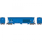 Athearn Genesis G15850 - HO ACF 4600 3-Bay Centerflow Hopper - The Andersons Inc. (AEX-Ex GTW) #410