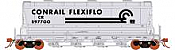 Rapido 133007 - HO ACF PD3500 Flexi Flo Hopper - Conrail CR Version 3(996H) Billboard Repaint-inservice 1976 (2pk)