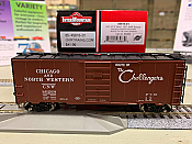 Intermountain 45816-02 HO Scale - 10Ft 6In Modified 1937 AAR Boxcar - C&NW - Route of the Challengers #80606