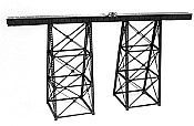 Micro Engineering 75514 HO Tall Steel Viaduct - Kit - Scale Length: 150 ft