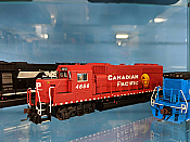 Atlas 10 002 589 HO EMD GP40-2 Phase 2 w/ESU Sound & DCC - Master Gold - Canadian Pacific #4657