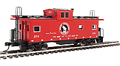 Walthers Mainline 8753 - HO International Wide-Vision Caboose - Great Northern #X74