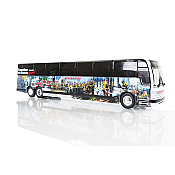 Iconic Replica 87-0266 - 1:87 Prevost X3-45 Coach: Diversified Fort McMurray Strong