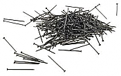 "Peco Track Nails Pins SL-14 - 1/4oz 7.1g - 9/16"" long Code 83 & 100"