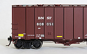 Tangent Scale Models HO 16034-01 - General American 4180 Airslide Covered Hopper - BNSF -Buffer Car #5 #808051