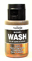 Vallejo 76.521 Model Wash for Oiled Earth Vehicles