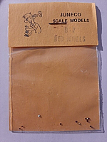 Juneco Scale Models B-7 - HO 3/4in Red Jewels (12/pkg)
