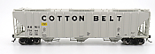 Intermountain 472290-04 HO Scale - 4785 PS2-CD Covered Hopper - H-100-21 Version - Cotton Belt SSW #77960