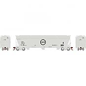 Athearn Genesis G15841 - HO ACF 4600 3-Bay Centerflow Hopper - Chicago & Eastern Illinois #718533