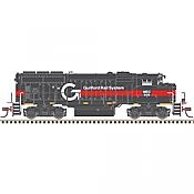 Atlas Model Railroad 40004871 N Scale - GP40-2w Silver DCC Ready - Guilford #509