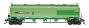 Intermountain Railway 48911-2 HO Procor Pressure Flow Hoppers Lafarge Cement LAFX # 730003