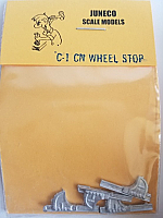 Juneco Scale Models C-1 Canadian National Wheel Stops (4/pkg)