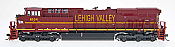 Intermountain Railway Diesel GE Evolution Series ES44AC DCC & Sound Lehigh Valley #8104