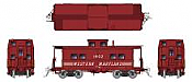 Rapido 144026 - HO Northeastern-style Steel Caboose: WM - Speed Lettering Scheme #1869