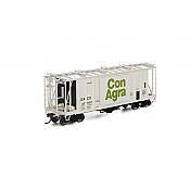 Athearn Genesis G87654 HO Scale - GATC 2600 Airslide Hopper - Con Agra #42902