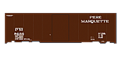 SmokeBox Graphics HO Pere Marquette Freight Cars