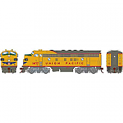 Athearn Genesis G19532 HO Scale - F7A EMD F-Unit Diesel - DCC & Sound - Union Pacific #1477