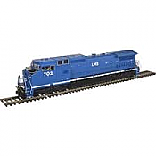 Atlas 10 002 272 HO Dash 8-40CW Locomotive Silver DCC Ready LMS No.702