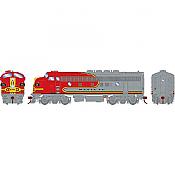 Athearn Genesis 19559 - HO F3A EMD - DCC & Sound - Santa Fe/Passenger #21C