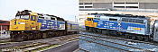 Rapido 80559 HO F40PH 2D VIA Rail Operation Lifesaver 6411 ESU LokSound DCC & Sound- Taking Orders Now