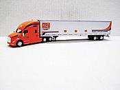 Trucks n Stuff TNS039 - HO Kenworth T680 Sleeper-Cab Tractor - 53ft Dry Van Trailer - Grupo Transportes Monterey