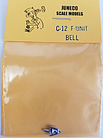 Juneco Scale Models C-12 Canadian National F-Unit Bell