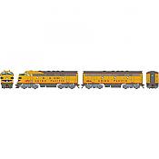 Athearn Genesis G19533 HO Scale - F7 A/B EMD F-Unit Diesel - DCC & Sound - Union Pacific #1470/1466B