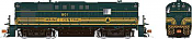Rapido 31570 HO - Alco RS-11, 2nd Run - Diesel Locomotive - DCC & Sound - Maine Central - Pine Tree #802