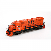 Athearn G65313 HO GP38-2 Phase 1a, Detroit, Toledo and Ironton DT&I #224 DCC Ready