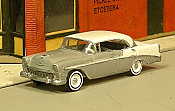 Sylvan Scale Models 298 HO Scale - 1956 Chevy Bel Air Sport Sedan - Unpainted and Resin Cast Kit
