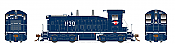 Rapido 27039 HO EMD SW1200 -DC/Silent - Missouri Pacific #1181 - Pre-order