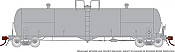 Rapido 135099 HO Scale - Procor GP20 20K Gal Tank Car: Undecorated Kit - Single Car: Later Style