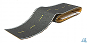 Walthers SceneMaster 1251 Flexible Self-Adhesive Paved Roadway-Modern Highways