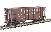 Walthers Mainline 6925 - HO 34ft 100-Ton 2-Bay Hopper - Southern Pacific #465091