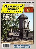 Railroad Model Craftsman Magazine July 2013