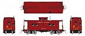 Rapido 144012 - HO Northeastern-style Steel Caboose: Lehigh Valley - Tuscan Scheme #95041