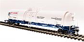 Broadway Limited 6311 - HO Cryogenic Tank Car - Air Liquide (2pkg)