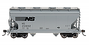 Intermountain Railway 46529-18 HO Scale ACF Center Flow Hopper Norfolk Southern #233034