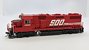 Athearn Geneis G65500 HO Scale - GP39-2 - DCC & Sound - SOO/ Red #4599
