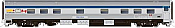 Rapido 119027 HO Scale - Budd Manor Sleeper Canada Scheme - VIA Rail, Osler Manor #10337