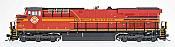 Intermountain Railway Diesel GE Evolution Series ES44AC DCC Installed Norfolk Southern #8114