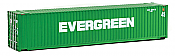 Walthers 8554 HO SceneMaster 45 FT CIMC Container - Assembled -  Evergreen