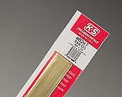 K&S Engineering 8247 All Scale - Brass Strip - 12inch x 3/4inch x .064inch