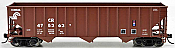 Bowser 42367 - HO RTR 100 Ton 3-Bay Open Hopper - Conrail #476341